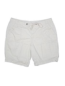 St. John's Bay Khaki Shorts Size 16 (Petite)