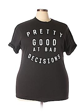Macy's Short Sleeve T-Shirt Size 2X (Plus)