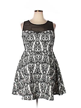 Trixxi Casual Dress Size 2X (Plus)