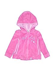 Adidas Girls Zip Up Hoodie Size 2T