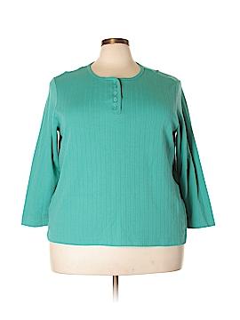 Blair Long Sleeve Henley Size 3X (Plus)