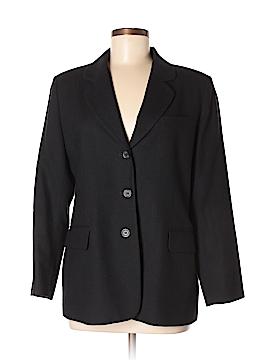 Petite Sophisticate Wool Blazer Size 10