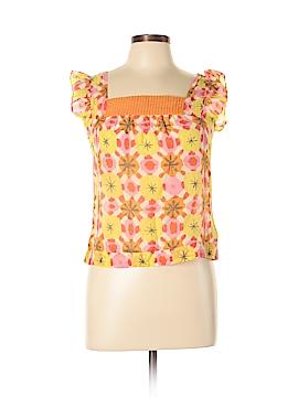 We Love Vera Short Sleeve Blouse Size 2