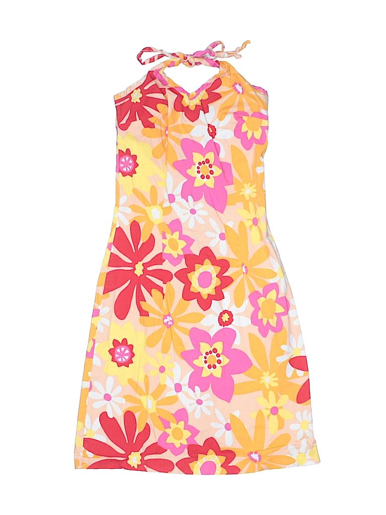 9d1ab9fee08b3 The Garage Gang Floral Color Block Orange Dress Size 2T - 82% off ...