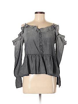 William Rast Long Sleeve Blouse Size XS