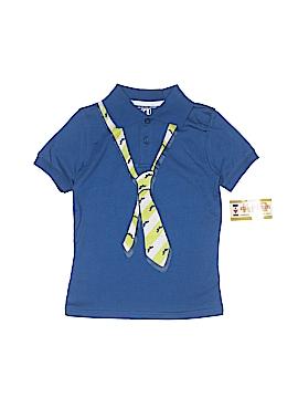 Kids Headquarters Long Sleeve Polo Size 5