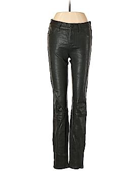 J Brand Leather Pants 25 Waist