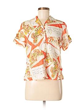 Jones New York Sport Short Sleeve Button-Down Shirt Size S (Petite)