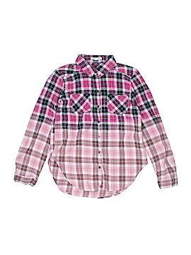 Copper Key Long Sleeve Button-Down Shirt Size L (Kids)