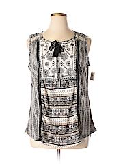 Style&Co Women Sleeveless Top Size 2X (Plus)