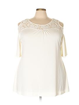Belldini Short Sleeve Top Size 3X (Plus)