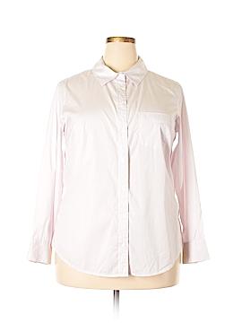 J.jill Long Sleeve Button-Down Shirt Size 1X (Plus)