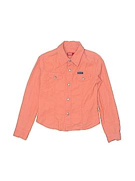 Diesel Long Sleeve Button-Down Shirt Size S (Kids)
