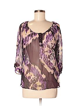 Liquid 3/4 Sleeve Silk Top Size 6