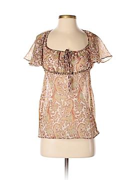 Angie Short Sleeve Blouse Size S