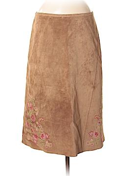 J.jill Leather Skirt Size 8