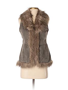 Style&Co Faux Fur Vest Size P (Petite)