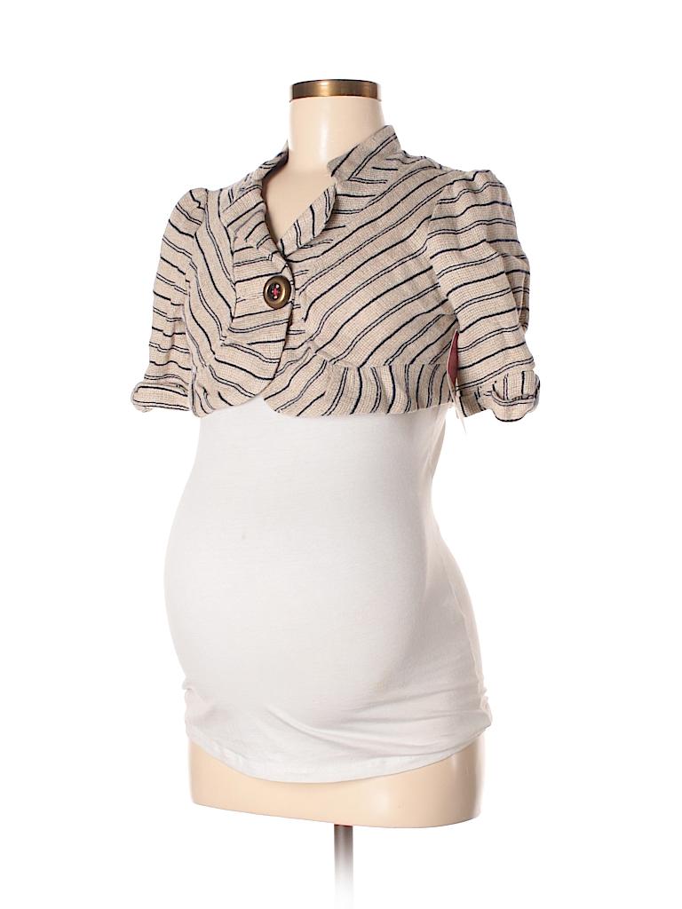Maternal America Women Blazer Size XS (Maternity)
