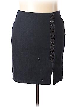 Lauren by Ralph Lauren Denim Skirt Size 22 (Plus)