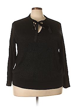MICHAEL Michael Kors Long Sleeve Top Size 2X (Plus)