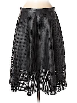 Catherine Malandrino Faux Leather Skirt Size 8