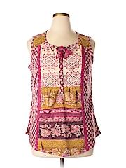 Style&Co Women Sleeveless Top Size 1X (Plus)