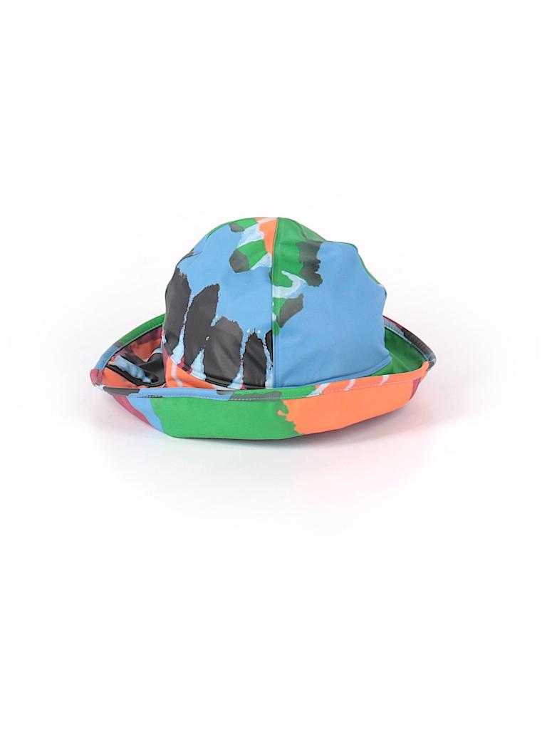 Lands  End 100% Polyurethane Print Blue Bucket Hat Size S (Kids ... 6fa791c1938