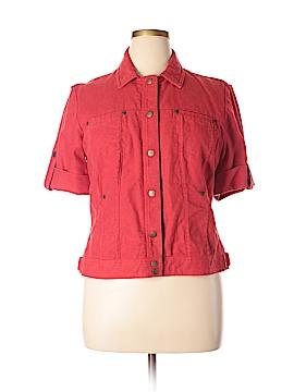 Coldwater Creek Denim Jacket Size 14