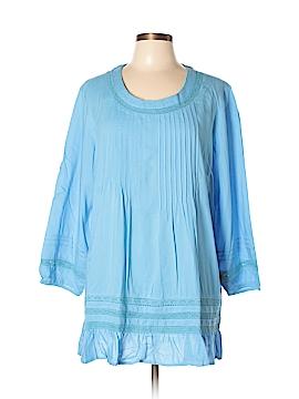 Tantrums 3/4 Sleeve Blouse Size L
