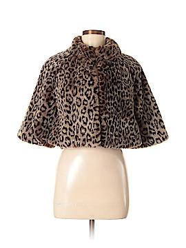 Banana Republic Faux Fur Jacket Size M (Petite)