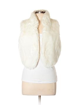 Daisy Fuentes Faux Fur Vest Size XL