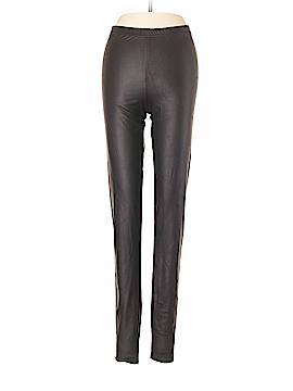 Topshop Faux Leather Pants Size 4