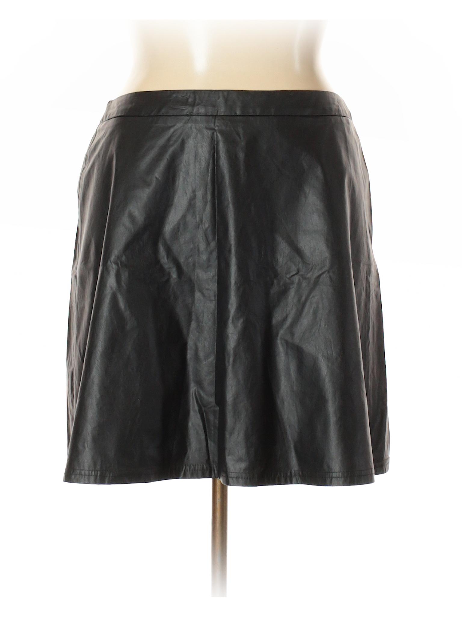 Ann Faux Boutique Taylor Skirt Outlet Loft Leather fIBqrBdw