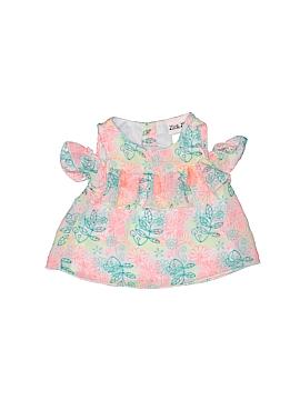Little Lass Sleeveless Blouse Size 12 mo