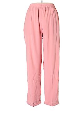 Casual Corner Silk Pants Size L