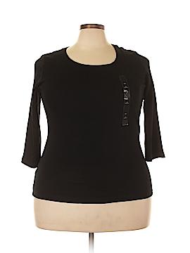 Ken Scott 3/4 Sleeve T-Shirt Size 0X (Plus)