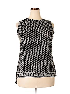 Madewell Sleeveless Silk Top Size L
