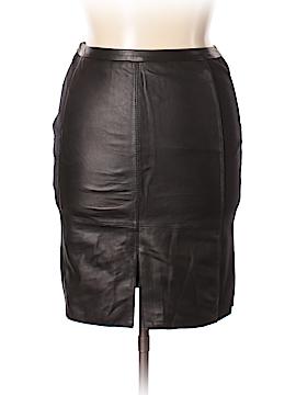 Halogen Leather Skirt Size 12 (Petite)