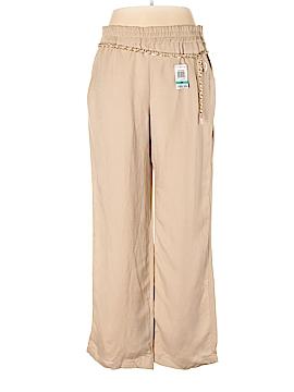 JM Collection Linen Pants Size 0X (Plus)