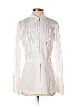 Samuel Dong Long Sleeve Button-Down Shirt Size S