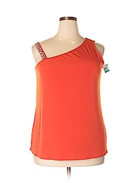 INC International Concepts Sleeveless Top Size 0X (Plus)