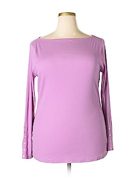 Lauren by Ralph Lauren Long Sleeve Top Size 2X (Plus)