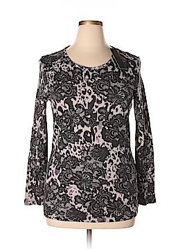 Daisy Fuentes Long Sleeve T-Shirt Size XL