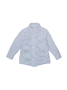 Deux Par Deux Long Sleeve Button-Down Shirt Size 4