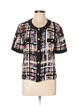 Amanda Uprichard Short Sleeve Silk Top Size L