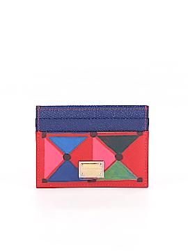 Dolce & Gabbana Leather Card Holder One Size