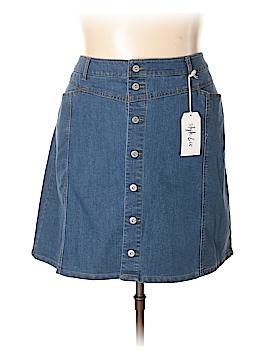 Style&Co Denim Skirt Size 24w (Plus)