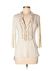 One September Women 3/4 Sleeve Blouse Size S
