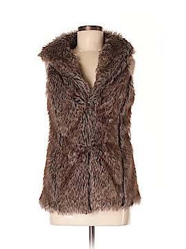 CoffeeShop Faux Fur Vest Size S