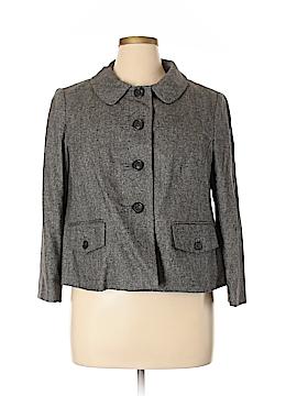 Ann Taylor LOFT Wool Blazer Size 16